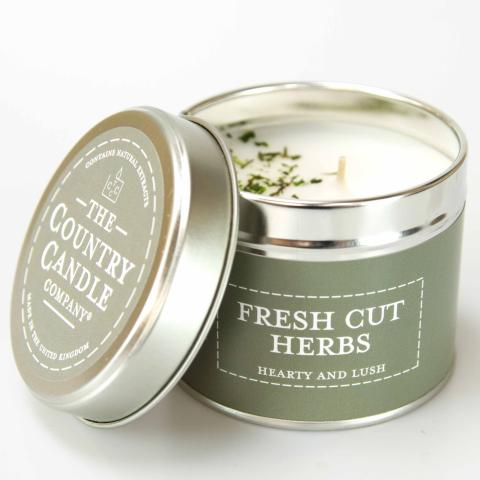 TIN CANDLES 30 hours burn time These are our most popular candles, which are great for medium sized rooms.